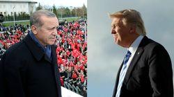 Cuando Europa critica a Erdogan... Trump le felicita por su