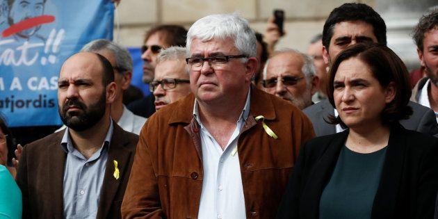 Colau afirma que Puigdemont sigue siendo el legítimo presidente de la