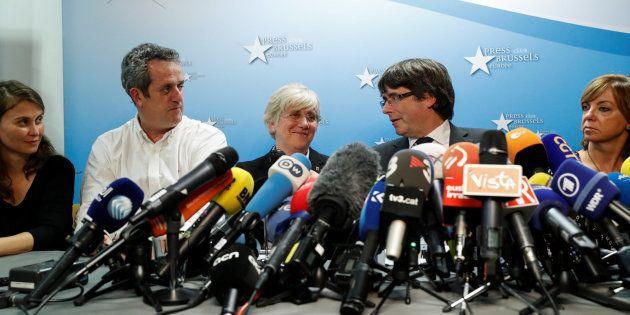 La Fiscalía pide detener a Puigdemont y los exconsellers que no han ido a la Audiencia