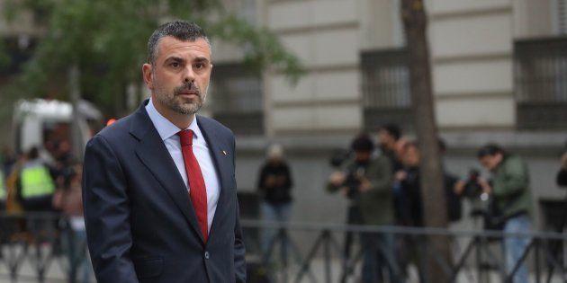 Santi Vila, exconsejero de Empresa de la Generalitat de