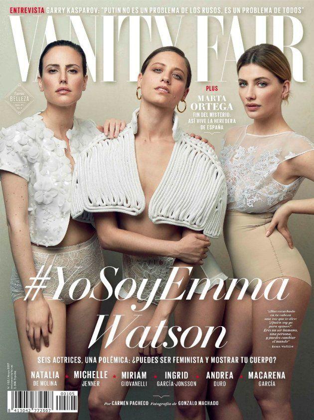 Miriam Giovanelli explica cómo le pusieron con Photoshop el pecho de otra mujer en unas