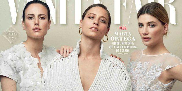 Natalia de Molina, Michelle Jenner y Miriam Giovanelli en la portada de mayo de 'Vanity