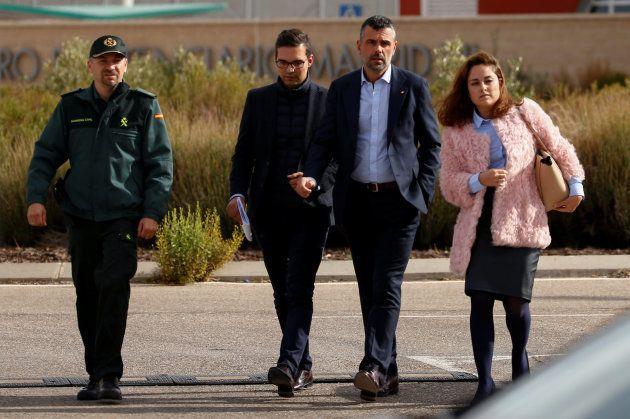 Santi Vila sale de la cárcel de Estremera tras pagar la fianza de 50.000