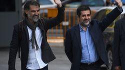 La Audiencia mantiene en prisión a Jordi Sánchez y Jordi