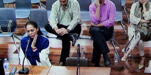 Isabel Pantoja, en el juicio: