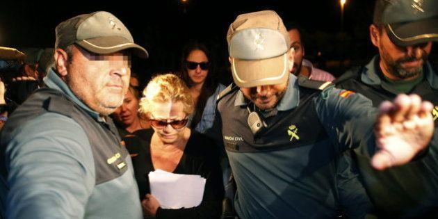 Maite Zaldívar entra en prisión de forma