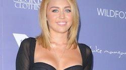 El vestido-sujetador de Miley