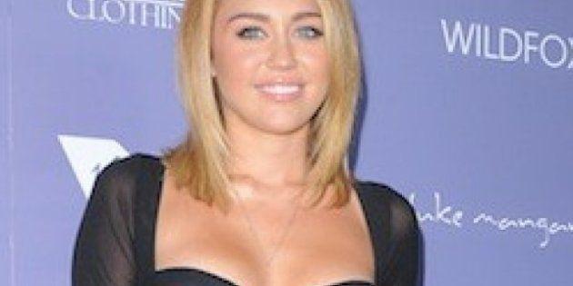 El vestido-sujetador de Miley Cyrus