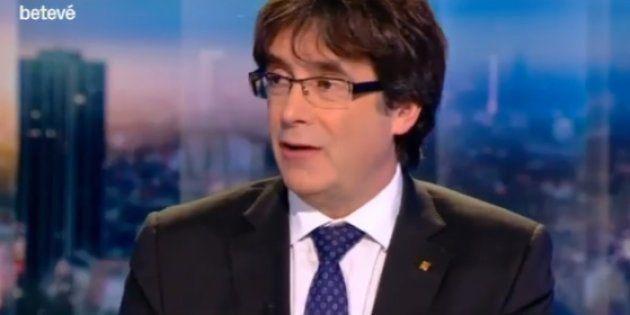 El detalle de la entrevista a Puigdemont que enfadó mucho a su