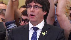 Puigdemont dice tener voluntad de