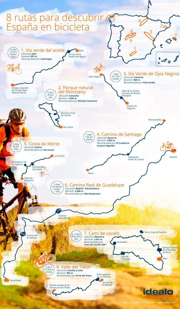 8 rutas para descubrir España en