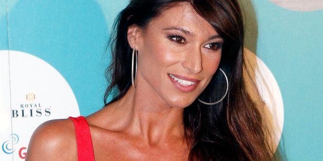 La presentadora Sonia Ferrer durante el Universal Music Festival