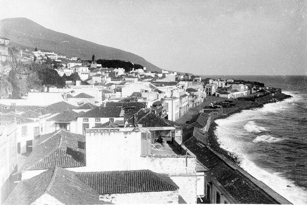 Imagen de la antigua playa en el siglo
