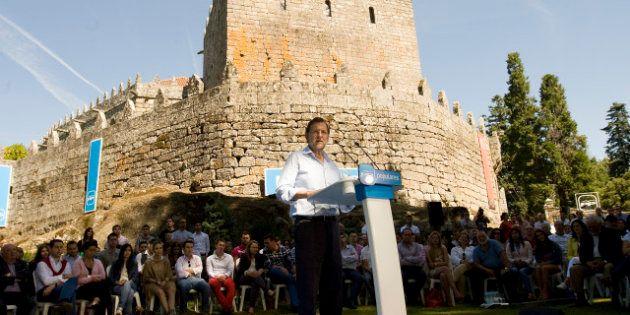 Rajoy defiende la subida del IVA en el mismo lugar donde hace un año prometió no subirlo