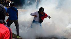 Al menos dos muertos en los choques entre manifestantes y policía en
