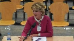 Esperanza Aguirre se desvincula de la trama Gürtel e insiste en que ella fue su