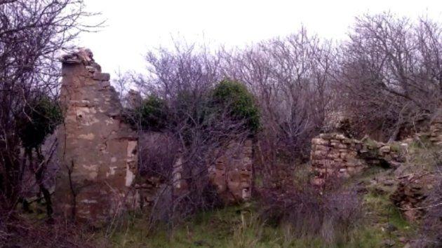 Así se encontraron las casas de Fraguas al llegar en