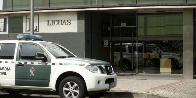 Registran la sede de la constructora OHL en Madrid por la financiación ilegal del