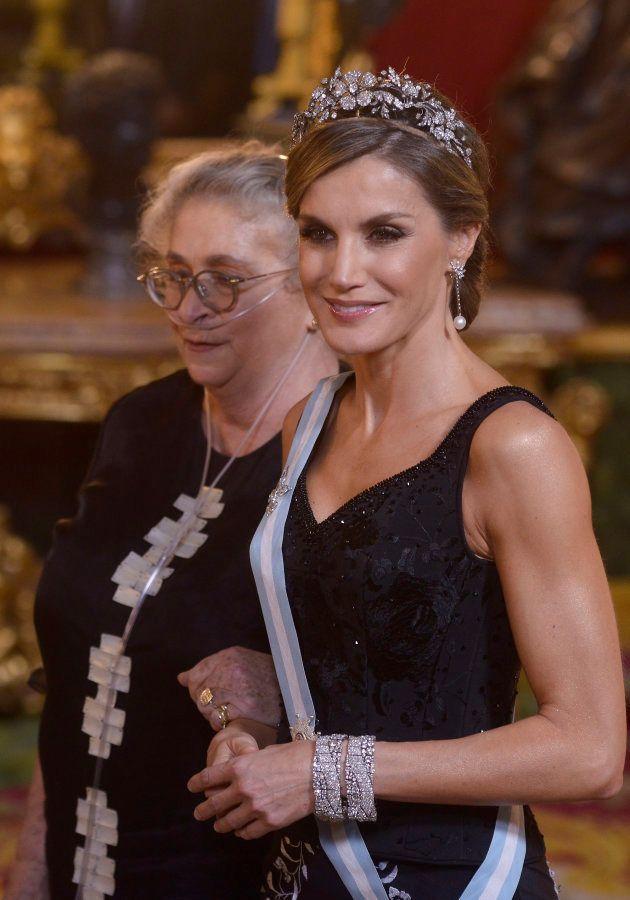 La reina Letizia con Nechama