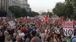 Las manifestaciones del 19J en la prensa