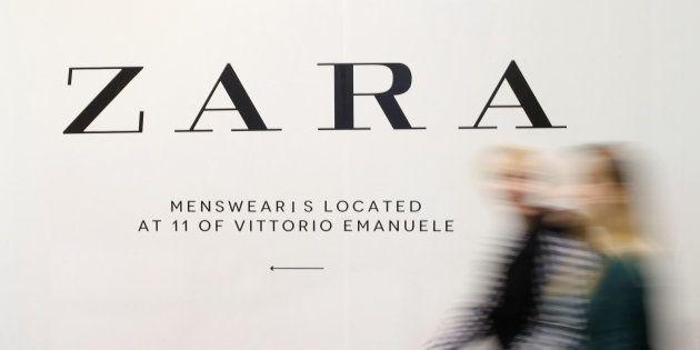 Una tienda de Zara en