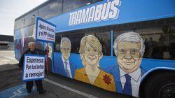 El 'tramabús' pasa por la Audiencia Nacional mientras declara