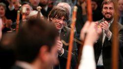 Puigdemont reaparece en el acto que reúne a 200 alcaldes independentistas en