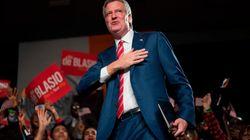 Bill de Blasio, reelegido alcalde de Nueva York en una noche triunfal para los