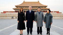 Trump llega a China, la etapa más delicada de su gira asiática centrada en Corea del
