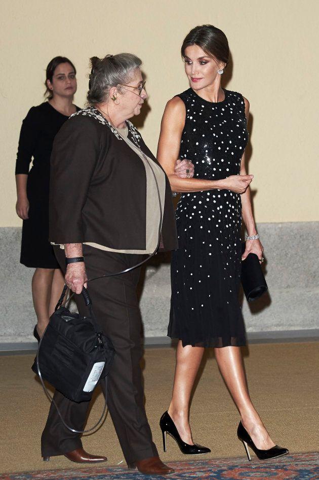 La reina Letizia y Nechama Rivlin, esposa del presidente de