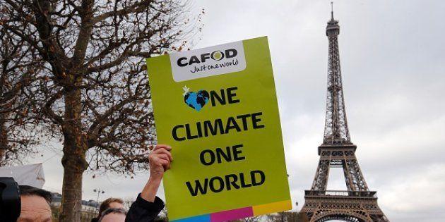 Protestas durante la Cumbre del Clima de París en