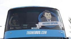 El tramabús de Podemos se avería y no llega a su cita con Arturo