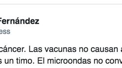 El tuit viral de un biólogo contra las supersticiones científicas más de