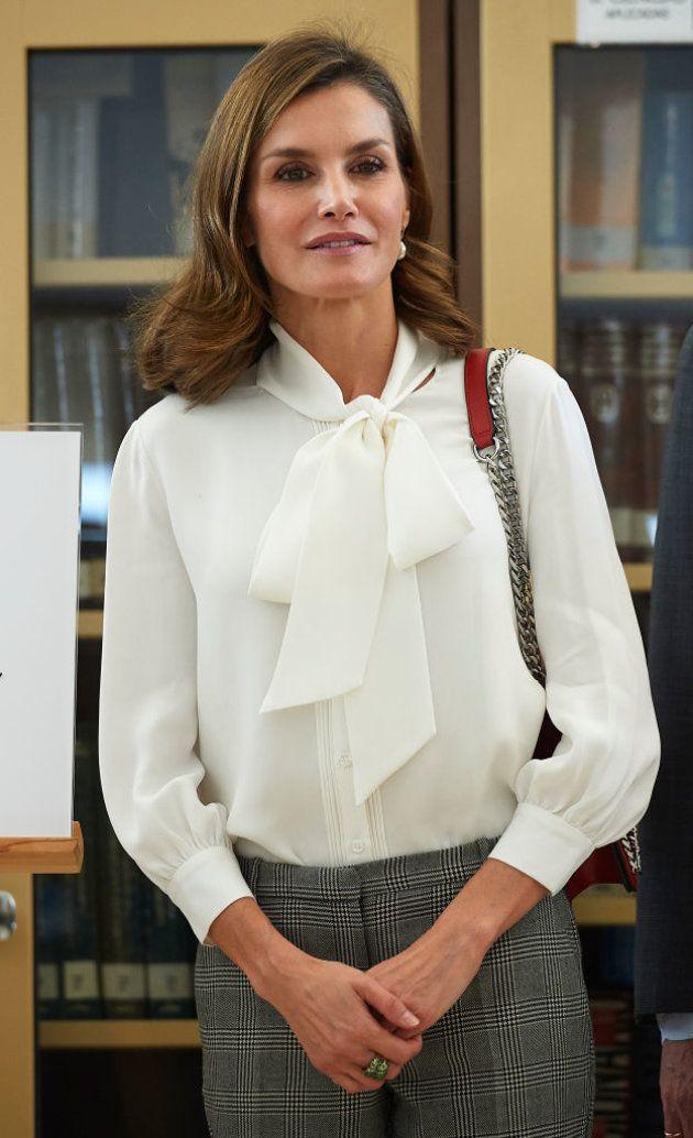 El mensaje oculto del anillo que la reina Letizia no se