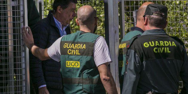 MADRID, 21/04/2017.- El expresidente de la Comunidad de Madrid Ignacio González es trasladado desde la...