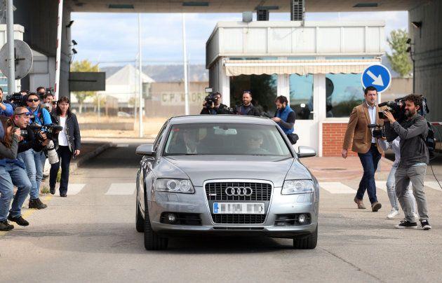 🔴 DIRECTO: Forcadell sale de la prisión tras pagar su fianza de 150.000