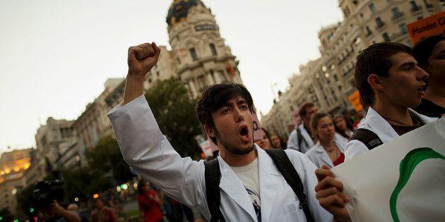 La ciencia marcha en España para reclamar financiación y acercarse a la