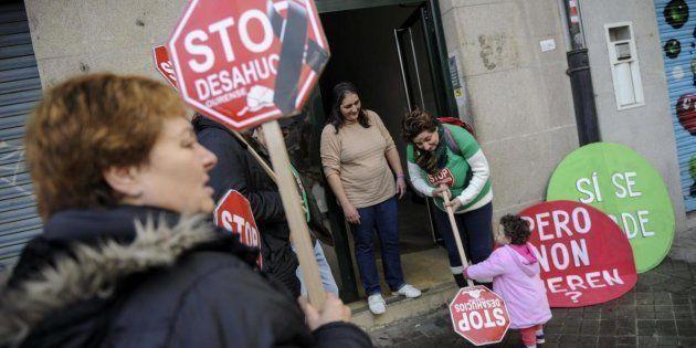 Imagen de archivo de una protesta