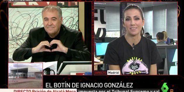 Ferreras enamora a Twitter con este gesto a Ana Pastor en