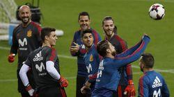El comentario más repetido antes del partido de la selección española en el campo del