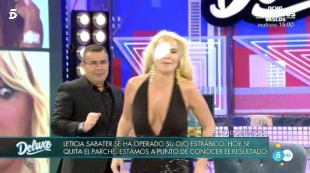 Leticia Sabater muestra el resultado de su operación en
