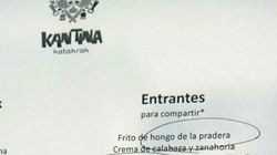 Un restaurante triunfa con este homenaje en su menú a Chiquito de la