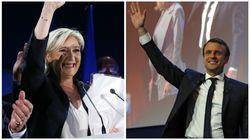 Macron y Le Pen se clasifican para la segunda vuelta de las elecciones presidenciales