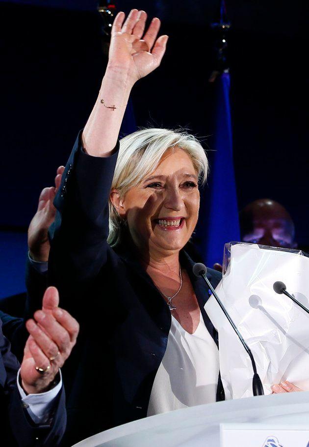 Le Pen tras conocer los