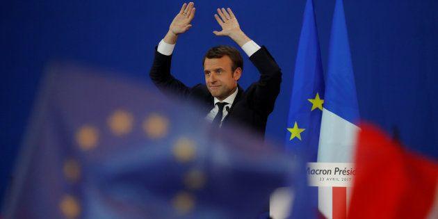 Emmanuel Macron tiene 15 días para convencer a la Francia que duda. REUTERS/Philippe