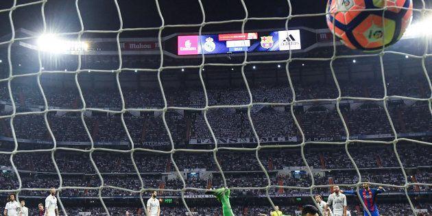 El Madrid nunca había perdido en la historia un partido de liga en el Bernabéu con gol en el
