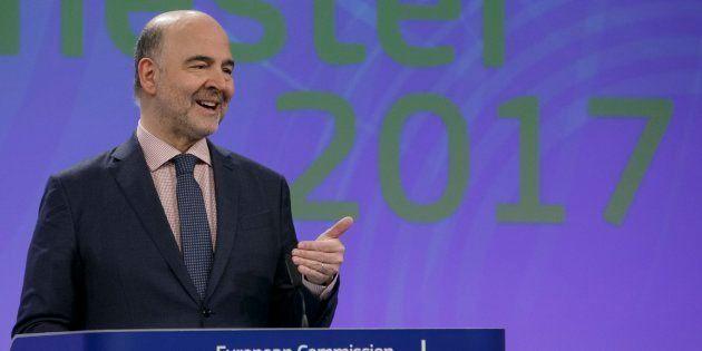 El comisario europeo de Economía y Asuntos Financieros, Pierre