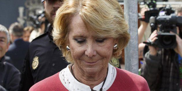 El PP no pide a Aguirre su dimisión: