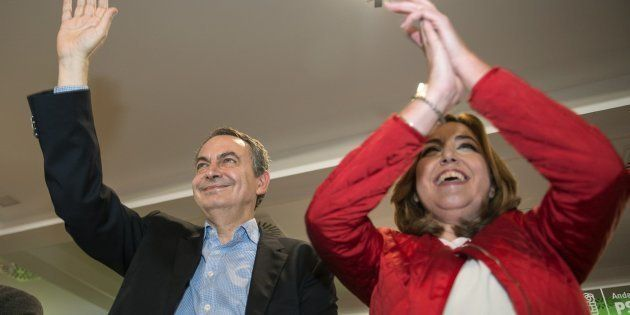 Zapatero acusa a Cataluña de tener