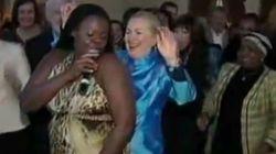 Clinton se despide de Sudáfrica